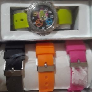 NWT  Watches, Multicolor